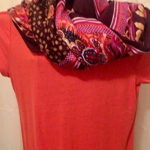 Ann Taylor Beaded Scoop Neck Top